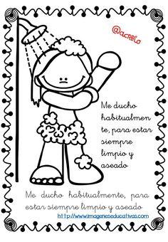 Dibujos para colorear y actividades sobre LOS ESTADOS DEL
