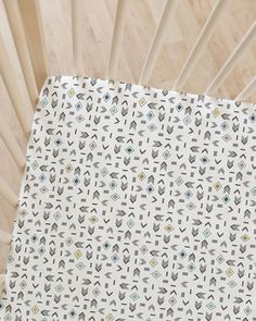 Hawthorne Threads - Our Mountaineering design from our Redwood collection looks great as a Crib Sheet! We recommend Our Quilting Cotton substrate which also comes in 100% GOTS Certified Organic Cotton.