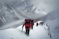 K2 Mountain Vs Everest ... k2 in the himalayas more rock climbing climbing 8000s climbing k2 1