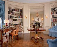 Library in New York by Alexa Hampton