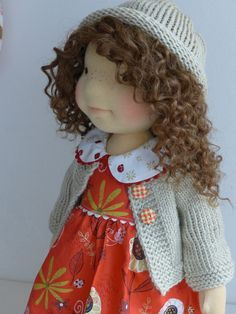 "DARIJA  19"" doll by Dearlittledoll  #dearlittledoll #naturaltoys #waldorf…"