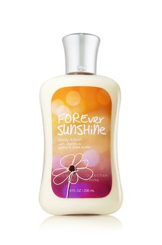 Forever Sunshine Bath & Body Works Signature Collection Body Lotion | Forever Sunshine captures the romance of warm days that linger into cool autumn. Experience this blend of juicy tangerine, pink peonies & sweet praline whenever you crave the essence of summer
