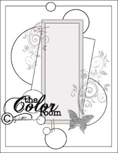 Lydell Quin/The Color Room: Scrapbook Sketches