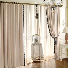 http://www.paccony.com/product/Select-Elegant-Lacework-Embossed-Polyester-Blackout-Curtain-Beige-19708.html $51.99 Select Elegant Lacework Embossed Polyester Blackout Curtain(Beige)