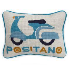 Discover the Jonathan Adler Jet Set Positano Cushion at Amara