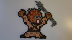Star Wars - Tusken Raider (Mega Man style) perler beads by Björn Börjesson