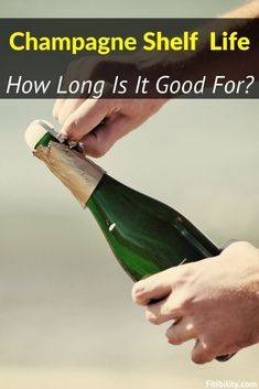 Champagne is a celebratory drink rather than something you usually enjoy daily. Does Champagne Go Bad? Here's what you need to know about its shelf life #Champagne #wine #alcohol #fitibility Best Champagne, Vintage Champagne, Champagne Bottles, Food Shelf Life, Best Alcohol, Champagne Region, Long Term Storage, Types Of Wine, Grape Juice