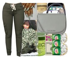 """""""All I want is money"""" by fashionweeklyneeds ❤ liked on Polyvore featuring MICHAEL Michael Kors, Casetify and NIKE"""