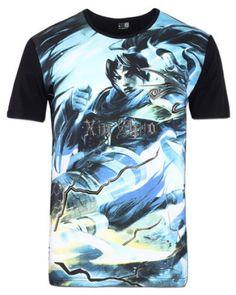 Legal Xin Zhao tshirt impresso para homens League of Legends-