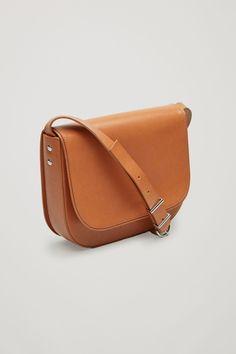 COS image 3 of Small shoulder bag in Tan