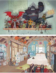 Mais artes do filme Big Hero 6, da Disney | THECAB - The Concept Art Blog
