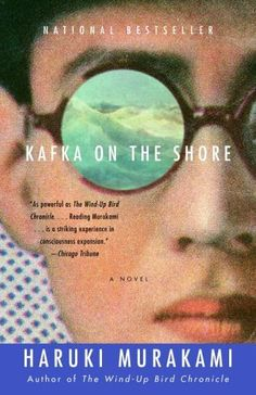 Kafka on the shore by Haruki Murakami. My first audiobook, so close to my heart.