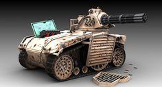 Gat Tank by Maxtout - CGHUB