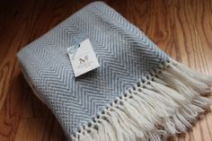 Blue Handwoven Wool...