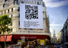 Just nineteen seconds to share for a world in pain ….not a single donation needed or ever required for this project to work…the qr code leads to a full education on survival methods already saving 10's of thousands that need be rescuing millions. http://www.youtube.com/watch?v=Ba4OYsulGEU