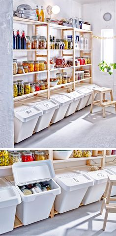Ikea ivar built in pantry all components purchased for Scaffali ikea ivar