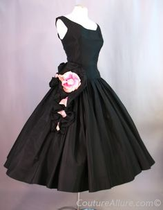 Elegant 1950's cocktail dress