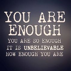 You are Enough! Visit the One Mom's Battle Blog:  http://www.onemomsbattle.com Need #Divorce #Custody Coaching?:  http://www.TinaSwithin.com