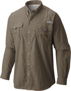 NWT Columbia Men/'s PFG Bahama II Long Sleeve Shirt Spring L XXL
