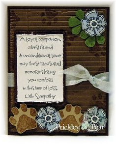 Inspiration Blooms - Prickley Pear Rubber Stamps
