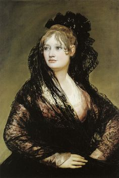 Francisco Goya, before 1805 - - - Isabel de Porcel