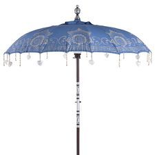 Balinese Umbrella - Blue