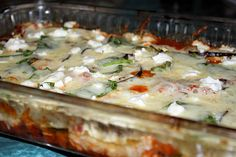 "Mexican Poblano, Spinach, And Black Bean ""Lasagne"" With Goat Cheese..."