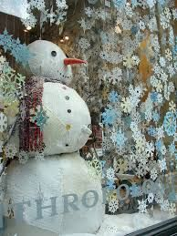 Image result for anthropologie snowman display