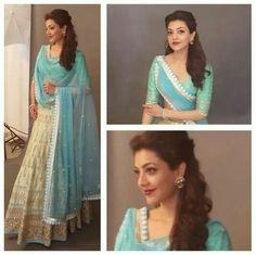 Kajal Agarwal's Top 9 Lehenga Looks http://www.beautyscoopindia.com/kajal-agarwals-top-9-lehenga-looks/#candycrow #kajalagarwal #fashion