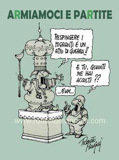 #IoSeguoItalianComics #politica #Satira #migranti