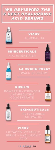 Hyaluronic acid is a hydration powerhouse that can hold up to 1000 times its weight in water, which is why it is an extremely beneficial ingredient to add into your skin care routine. We're sharing our review of six of the best hyaluronic acid serums on the market and why you may want to consider adding it to your beauty arsenal.