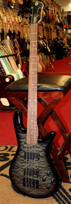 2014 Spector Legend Classic 4-String Bass Slate Grey