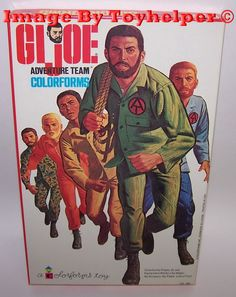 GI Joe  Colorforms Adventure Play Set Unused Vintage #Colorforms