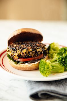Recipe: Wild Rice Burgers — Uncommon Grain Recipes from The Kitchn