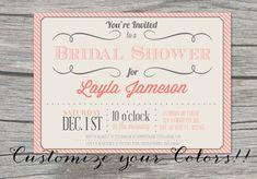 Hey, I found this really awesome Etsy listing at https://www.etsy.com/listing/150664174/vintage-bridal-shower-invitation-custom