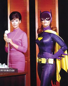 Barbara Gordon/Batgirl.  I remember you could tell Batgirl was going to be on Batman by watching the opening credits - if she was in the credits on her motorcycle - she was in that episode.