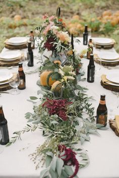 Pumpkin Patch Wedding Inspiration for Fall | Ellie Koleen Photography | Oh What Joy Events | Bridal Musings Wedding Blog