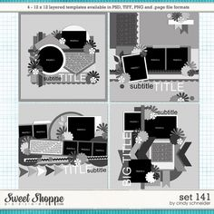 Cindys Layered Templates - Set 141 by Cindy Schneider