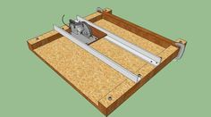 Circular Saw Cross-cut Jig - by SebringDon @ LumberJocks.com ~ woodworking community