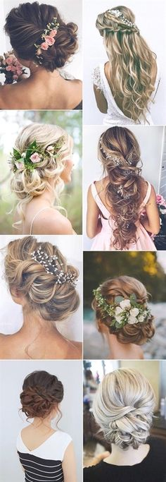 Top 20 Wedding Hairstyles Ideas for 2017 . - Top 20 Wedding Hairstyles Ideas for 2017 Trends # Hairstyles # Ideas … -