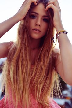 Image uploaded by Kristina Heart. Find images and videos about hair, pink and dress on We Heart It - the app to get lost in what you love. Kristina Bazan, Looking Gorgeous, Beautiful, Pink Sunset, Cute Fashion, Redheads, Red Hair, Pink Dress, Weed