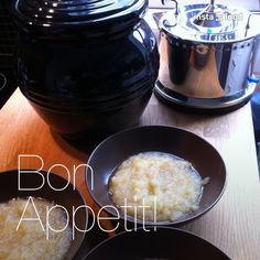 Æblegrød med vanilje