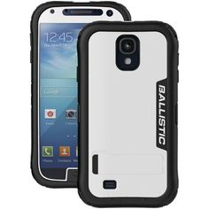 Ballistic Samsung Galaxy S 4 Case With Kickstand (white And Black) (pack of 1 Ea) Samsung S4 Case, Samsung Galaxy S, Phone Gadgets, Electronics Gadgets, Music System, Electronic Gifts, Camera Phone, Audio Equipment, Phone Holder