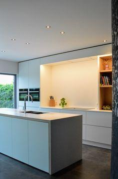 Kitchen Dinning, New Kitchen, Kitchen Decor, Kitchen Layout Plans, Kitchen Rules, Kitchen Furniture, Kitchen Interior, Clever Kitchen Ideas, Modern Kitchen Design