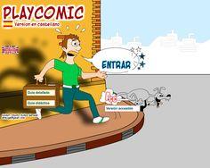 B2. HERRAMIENTA Playcomic, para crear cómic con los alumnos en clase. Muy útil para clases de español para extranjeros o de lengua, para la expresión escrita. En la página del Ministerio de Educación: http://ntic.educacion.es/w3/eos/MaterialesEducativos/mem2009/playcomic/index_es.html Curso Narrativa digital, de INTEF 2017. #EduNarraDig