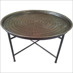 Hammered Metal Top Coffee Table   Best Color Furniture For You Check More  At Http: