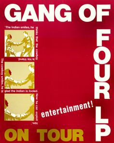 Dialectics & Disco: Post-punk Marxists Gang of Four get funky on 'Dance Fever,' 1982 Rock Posters, Music Posters, Music Flyer, Uk Music, Poster Boys, Gig Poster, New Flyer, Get Funky, Dangerous Minds