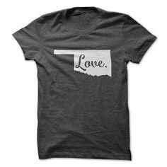 Love Oklahoma ~ https://www.sunfrog.com/States/Love-Oklahoma-62510932-Guys.html