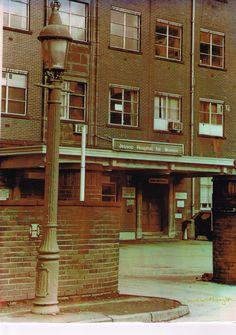 A hand printed hand coloured photograph of jessop hospital, Sheffield Sheffield Steel, Nostalgic Images, Sheffield England, South Yorkshire, Peak District, Old Photos, Abandoned, Past, Nostalgia