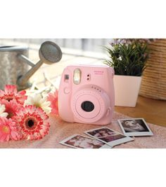 Fujifilm Instax Mini 8 Instant Camera, Pinknull....I seriously want this!!!